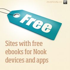 Free Nook books - 10 sites where you can download them