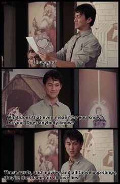 Well haha, I've been saying this for a while now. (500) Days of Summer