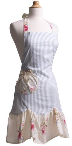 I love these aprons, I will either have to break down and order one or attempt to make it myself!