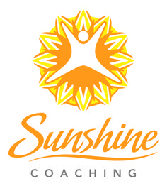 Sunshine Coaching | life coaching logo design | by James Kontargyris