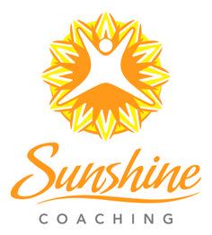 Sunshine Coaching | life coaching logo design | by James Kontargyris