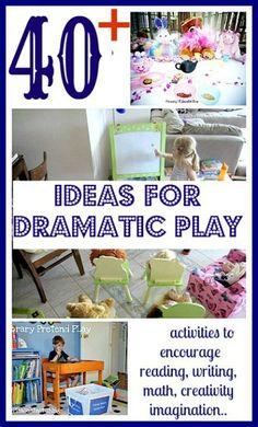 dramatic play ideas