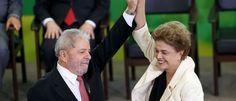 VERGONHA - Lula e Dilma participarão de protesto 'Diretas Já' em Brasília