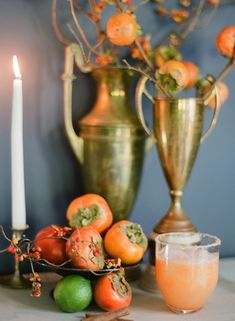 Persimmon Margarita - just what you need to try for #fall ! Make it ...