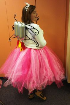 """My Halloween costume for teaching middle school. I was """"Everything I Wanted to be When I Grew Up.""""  LOL  My shirt had the list on the front.  The jet pack (for astronaut) and the tutu (for ballerina) were both from Pinterest. School Holiday Activities, When I Grow Up, School Holidays, Astronaut, Holiday Fun, Middle School, Ballerina, Something To Do, Tutu"""
