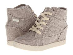 Wedge Sneakers, I'm never really into stuff like this...... But these are a really cute color and not bad looking too ;)