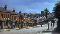 Mansel Road in Small Heath pictured in July 1953