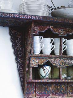 Japonia i Maroko w Sztokholmie - kokopelia design Color Inspiration, Interior Inspiration, Barn Kitchen, Kitchen Ideas, Painted Cupboards, Sweet Magnolia, Decoration, Home Goods, Stockholm
