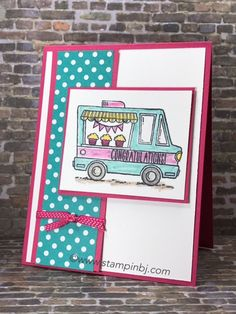 Congratulations are on the way via Tasty Trucks to new Stampin' Up! team members!  #stampinbj.com