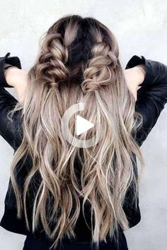 Hairstyles Ideas Formal 31 Best Trendy And Beautiful Twisted Rope Braid Blonde Hairstyle For Long Hair - Haircut Everythings About Gorgeous Twisted Rope Braid Hairstyle for You ! Romantic Hairstyles, Messy Hairstyles, Pretty Hairstyles, Hairstyle Ideas, Basic Hairstyles, Medium Hairstyles, Hairstyles For Fall, Festival Hairstyles, Wedding Hairstyles