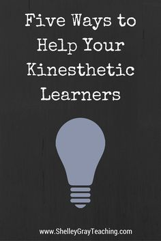 Want to know a secret? If you teach to appeal to your kinesthetic learners, ALL of your students will benefit! Students NEED to move around. They are simply not designed to sit in a chair all day long. Here are 5 ways to help the kinesthetic learners in your classroom. These tips will benefit other students as well.