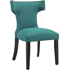 Find Modway MO- Curve Mid-Century Modern Upholstered Fabric Nailhead Trim, One Chair, Teal online. Shop the latest collection of Modway MO- Curve Mid-Century Modern Upholstered Fabric Nailhead Trim, One Chair, Teal from the popular stores - all in one