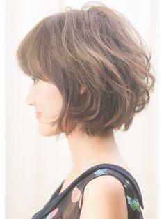 【VIRGO】えり足スッキリのラフな大人カジュアルボブ☆ - 24時間いつでもWEB予約OK!ヘアスタイル10万点以上掲載!お気に入りの髪型、人気のヘアスタイルを探すならKirei Style[キレイスタイル]で。