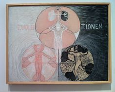 Hilma af Klint, Exhibition in Helsinki 16 August - 28 September, Hilma Af Klint, Helsinki, Evolution, Art Photography, September 2014, Inspiration, Spiritism, Painting Abstract, Spirituality