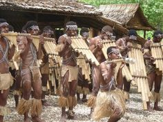 Solomon Islands Dancers playing the Pan pipes South Pacific, Pacific Ocean, Solomon Islands, West Indies, Papua New Guinea, World Cultures, Continents, Pipes, Dancers