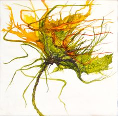 Alcohol Ink paintings. Alicia Tormey