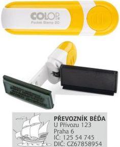 Razítko na geocaching pocket C 20 žluté Geocaching, Pocket, Bag