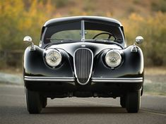 1954 Jaguar XK120 Roadster 7 • TheCoolist - The Modern Design Lifestyle Magazine