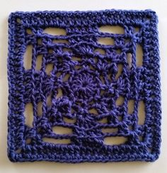 Beyond the Granny Part 11 - Chains and Loops Block - Free crochet pattern by Shelley Husband.