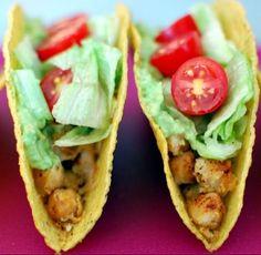 Chickpea Tacos #vegan