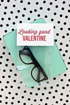 looking good valentines with free printable