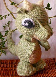 Free+Crochet+Dragon+Patterns | Baby Dragon Crochet Pattern PDF