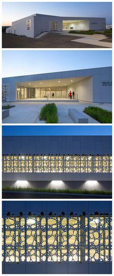 NBJ arch. / Sports hall, Uzes (F). EQUITONE facade materials. equitone.com
