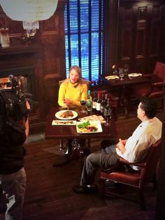 Live segment on @MyFOX9 w chef Donald for the @Minnesota Monthly food and wine show #foodwineshow