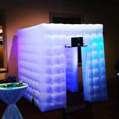 LED inflatable photobooth #mnmphotobooths