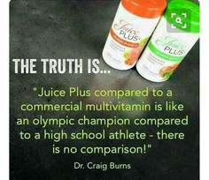 You need more whole- food nutrition. Research shows that Juice Plus+ delivers fruit and vegetable nutrition you need to maintain a healthy diet. Fruit And Veg, Fruits And Veggies, Juice Plus+, Fruit Juice, Different Fruits, Daily Vitamins, Healthy Lifestyle Changes, Balanced Diet, Healthy Habits