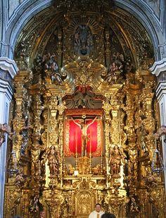 Retablo Capilla Cristo de San Gil Iglesia de San Gil