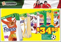 Variedad de #Cereales Nestlé para consentir a tus hijos y a ti. $34.50