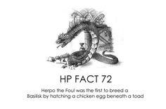 HP facts - Basilisk.