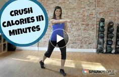 The 8-Minute Fat Blaster: Cardio you can do anywhere (no equipment required). | via @SparkPeople #fitness #exercise #workout