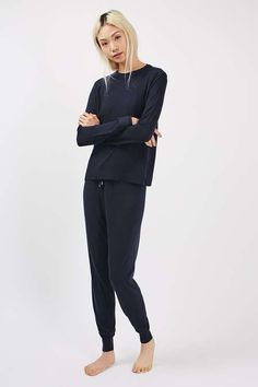 Soft Touch Loungewear Jumper and Jogger