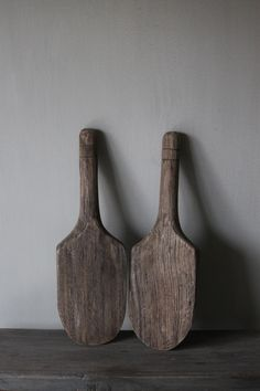 Wooden scoops