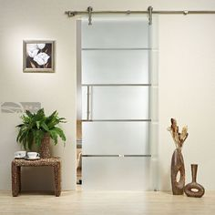 Mordern Barn style SLIDING GLASS DOOR HARDWARE modern interior doors
