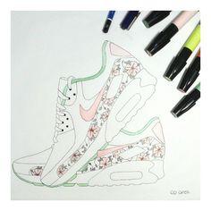 Sneakers artwork - Nike Air Max (©co.arelli)