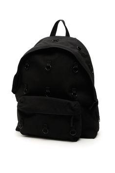 Raf Simons Eastpak Padded Loop Backpack In Black (black) Raf Simons, Canvas Backpack, Black Backpack, Backpacks, Mens Fashion, Bags, Moda Masculina, Handbags, Man Fashion