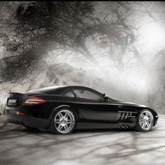 Mercedes Benz SLR Mclaren mystic wonder!