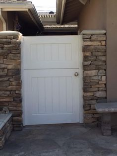 Garden Passages builds high quality Custom Wood Gates designed to enhance the look, feel and value of your home. Wood Gates, Side Gates, Dutch Door, Craftsman Style, Custom Wood, Cottage Style, Building, Garden, Outdoor Decor