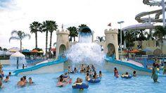 Top U.S. Waterparks.  Wet 'n Wild in Orlando, FL.  Features a Kid's Park.