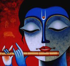 Krishna's Flute and the Peacock Chakra