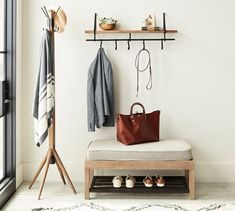 Lucy Mango Wood Entryway Collection