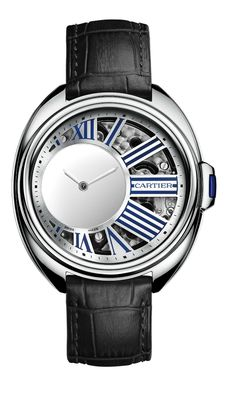 Cartier Clé Mysterious Hour for Watches & Wonders 2015