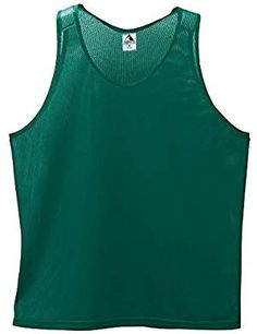 Navy//White Badger Big Boys Athletic Contrast Front Singlet Tank X-Small