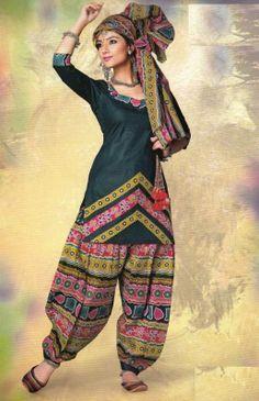 Gulaal Patiyala Dress
