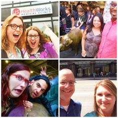 """Our @communityhealthplanwashington Wellness Committee is running a challenge for employees to get out and MOVE! We are almost halfway through the """"team selfie"""" challenge and we've received a bunch of really great entries so far. They are snapping pictures all across downtown Seattle at US Healthworks Seattle Denny Way, @virginia_mason @pikeplacepublicmarket and at our new CHPW office building lobby. You can follow along with the challenge by using the hashtag #MoveCHPW!"""