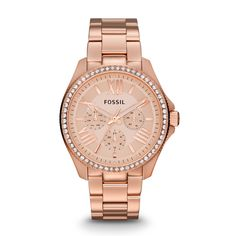 Fossil Cecile Multifunction Stainless Steel Watch - Rose AM4483 | FOSSIL®
