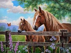 Fascination By Abraham Hunter Beautiful Paintings Of Nature, Scratchboard Art, Horse Artwork, Most Beautiful Horses, Farm Art, Boat Painting, Country Art, Wildlife Art, Belle Photo